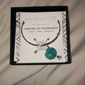 Alex & Ani Arrows of Friendship bracelet